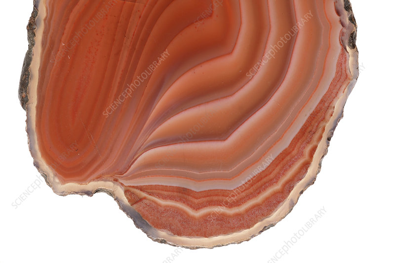 Flame agate stone pattern