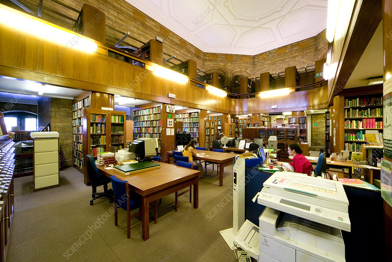 Natural History Museum's Botany Library