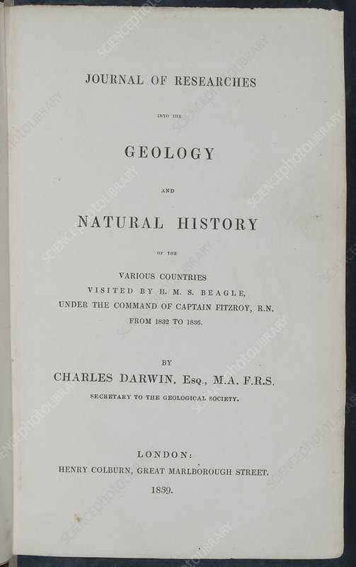 Darwin's Journal of Researches