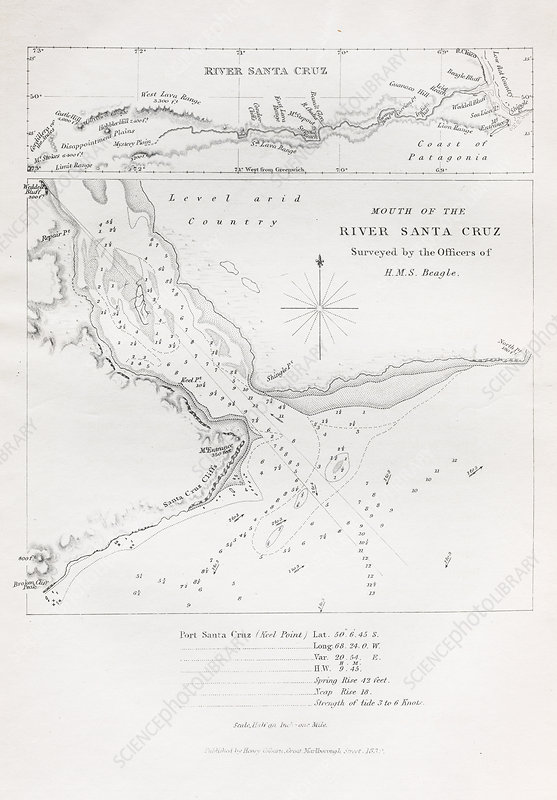 Survey of the Santa Cruz River, 1834