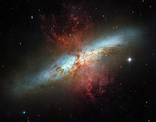 Cigar Galaxy (M82), HST image