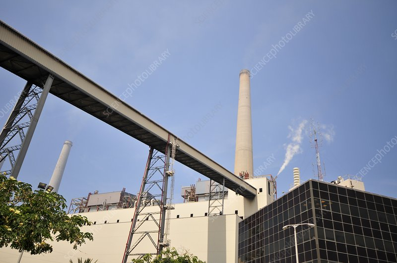 Coal operated power plant