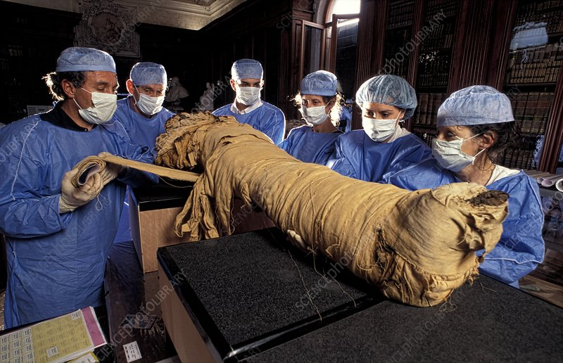 Egyptian mummy analysis, Italy