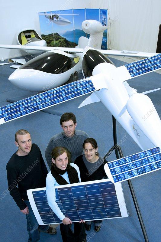 Hy-Bird solar and hydrogen powered plane