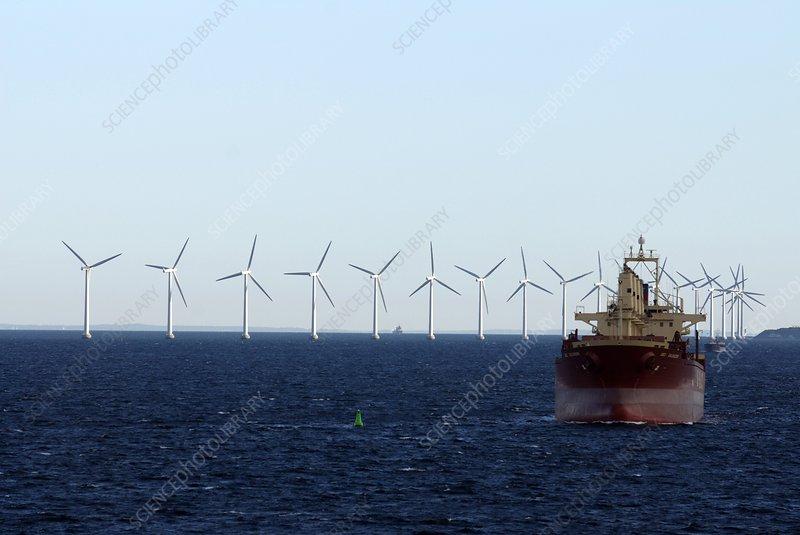 Middelgrunden wind farm, Denmark