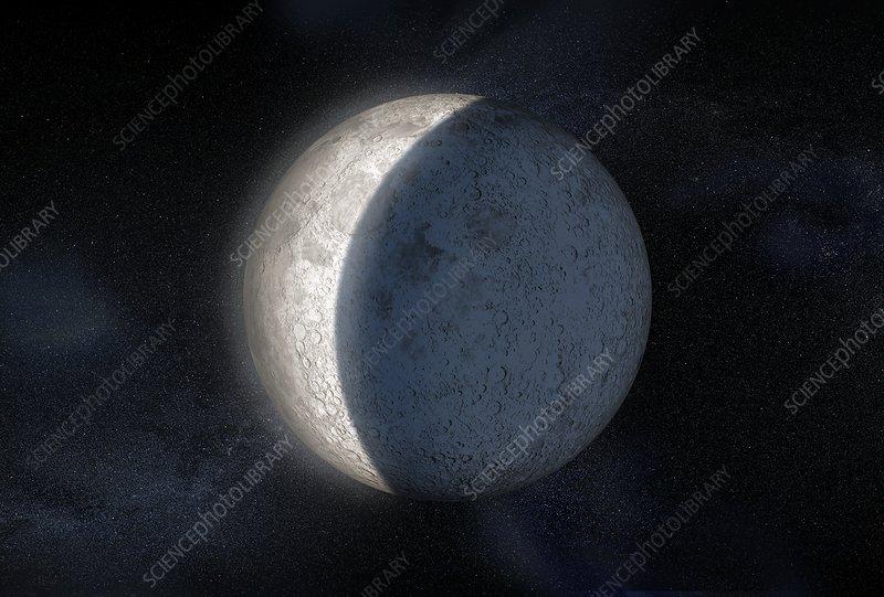 Lunar eclipse, artwork