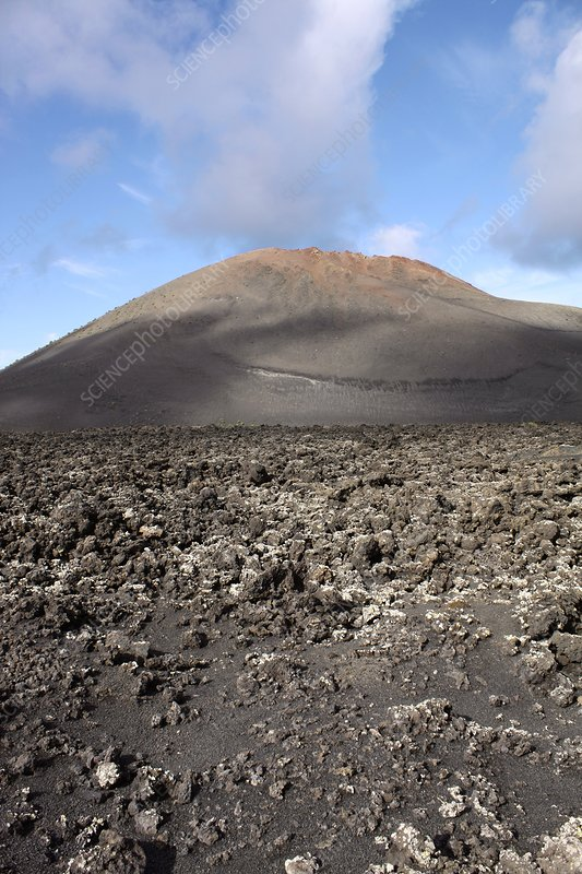 Extinct volcano, Lanzarote