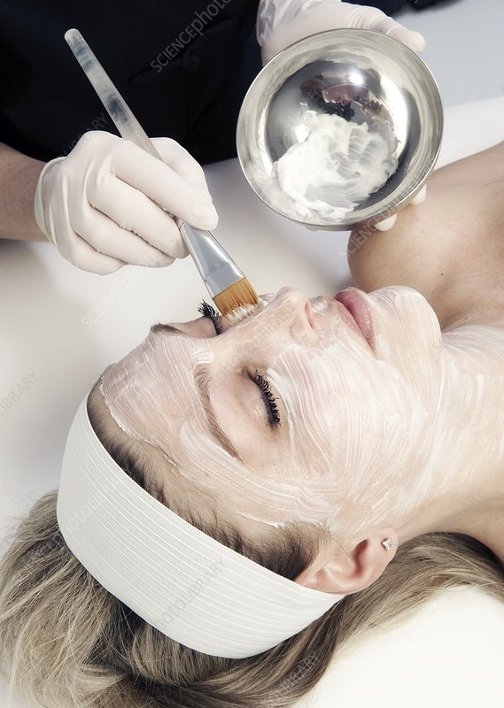 Cosmetic facial treatment everything