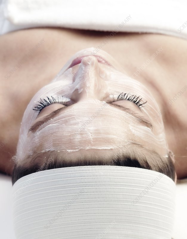 Facial cosmetic treatment