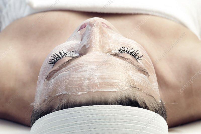 Facial cosmetic treatment