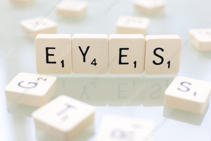 Eyes, conceptual image