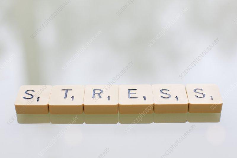 Stress, conceptual image