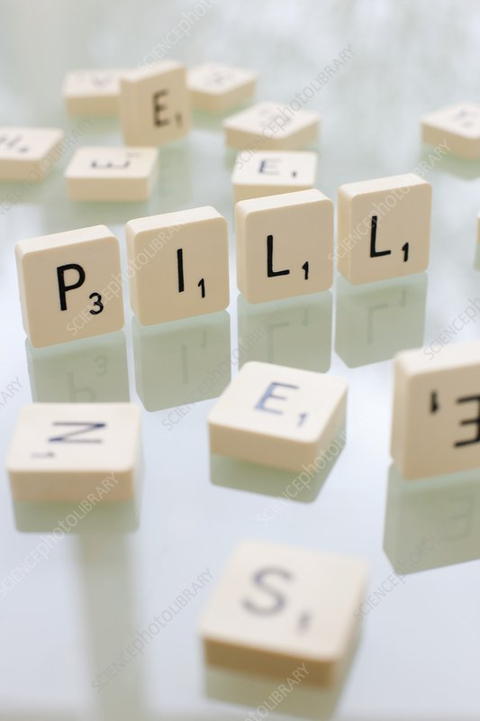 Pills, conceptual image