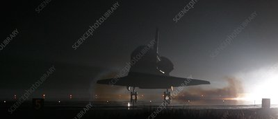 Space Shuttle Endeavour landing, 2008