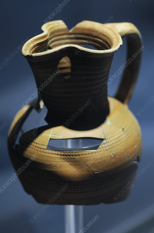 Ancient Byzantine pot