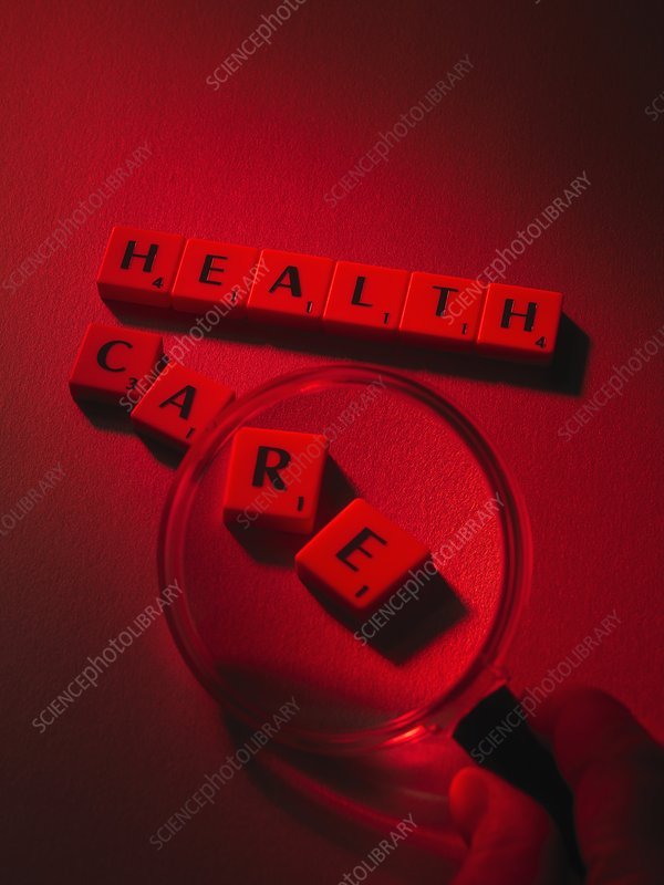 Healthcare research, conceptual image
