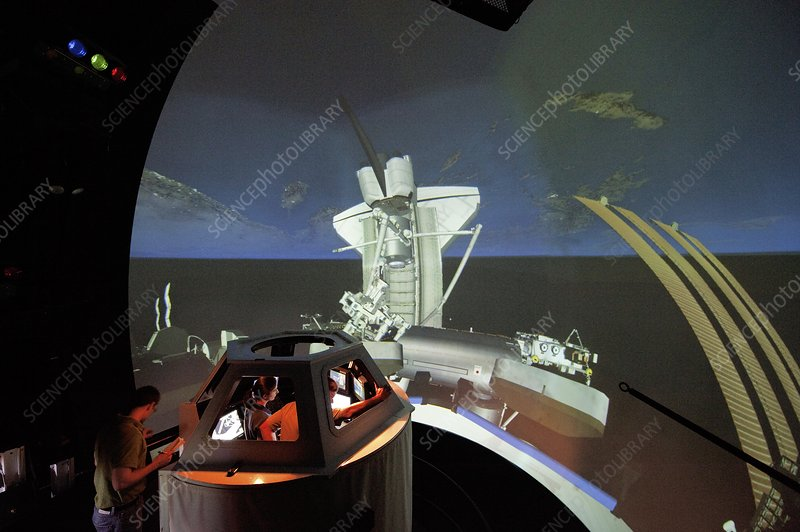 Mission STS-133 simulation