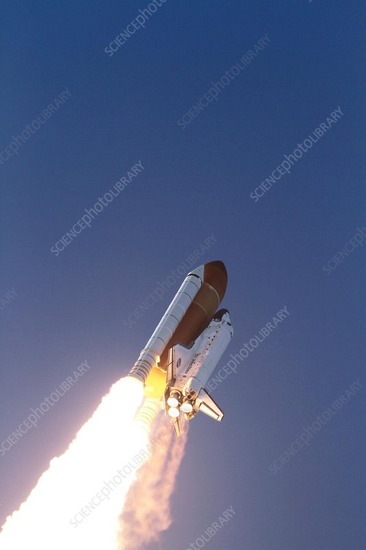 Discovery's final launch, 2011