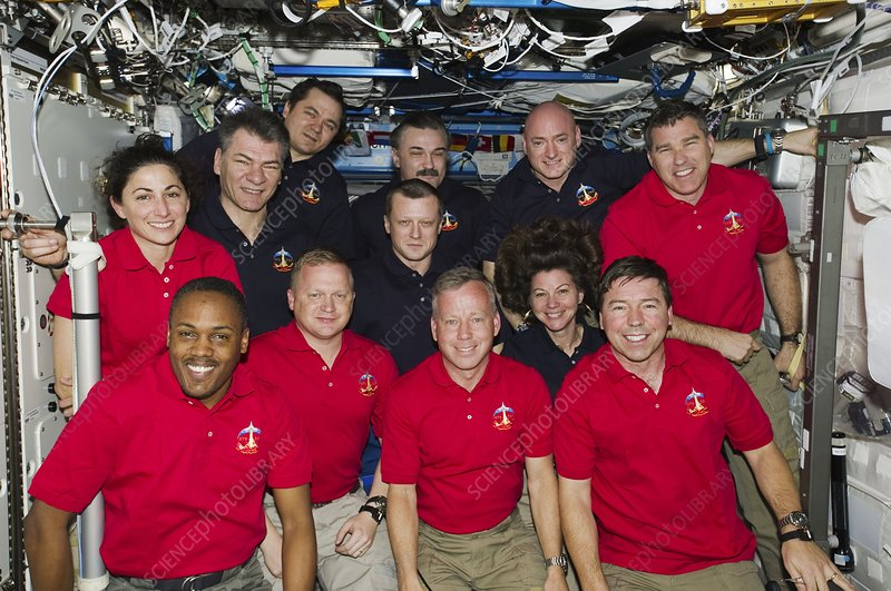 ISS Expedition 26 and STS-133 crews