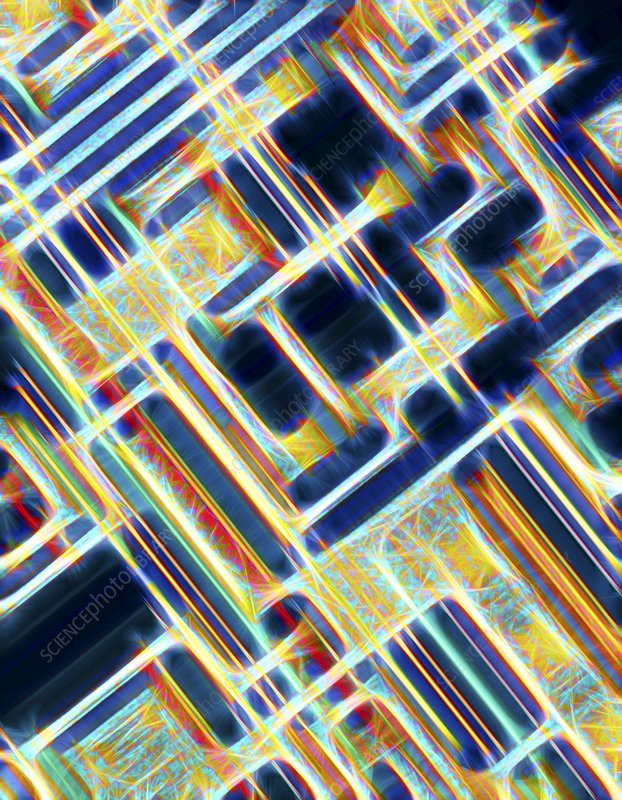 Microchip, artwork