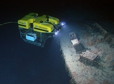 ROV exploration of Titanic