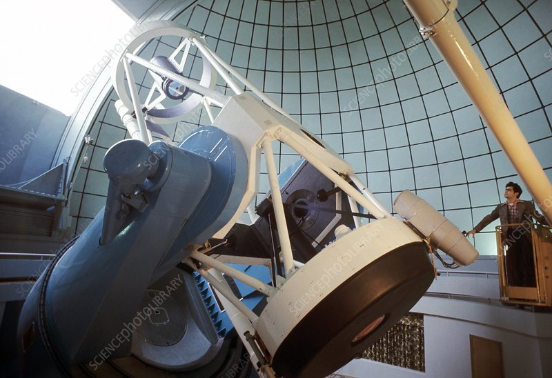 Telescope at the Byurakan Observatory