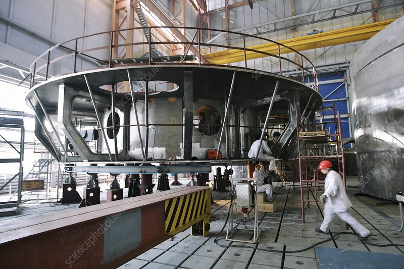 Beloyarsk nuclear reactor construction