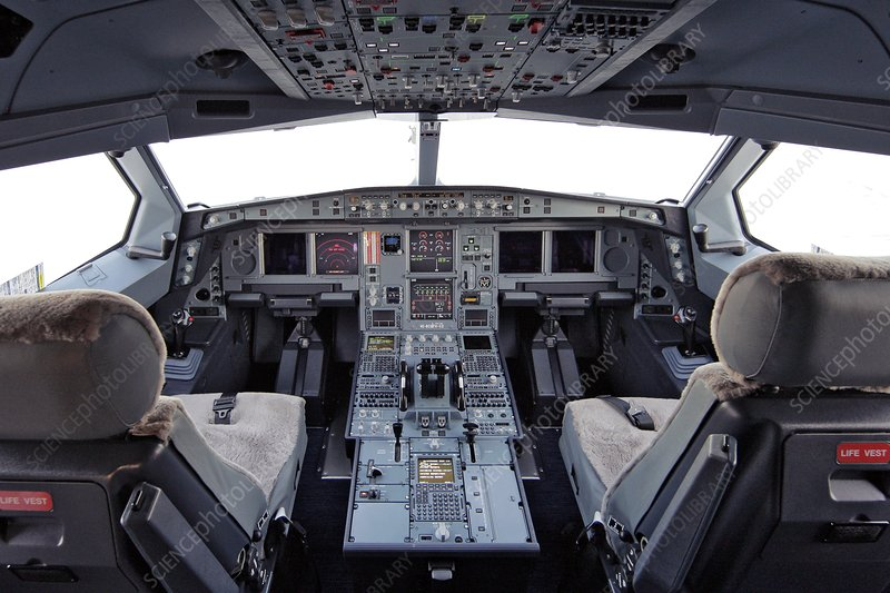 Airbus A330 cockpit