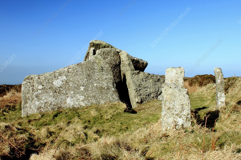 Zennor Quoit burial chamber, UK