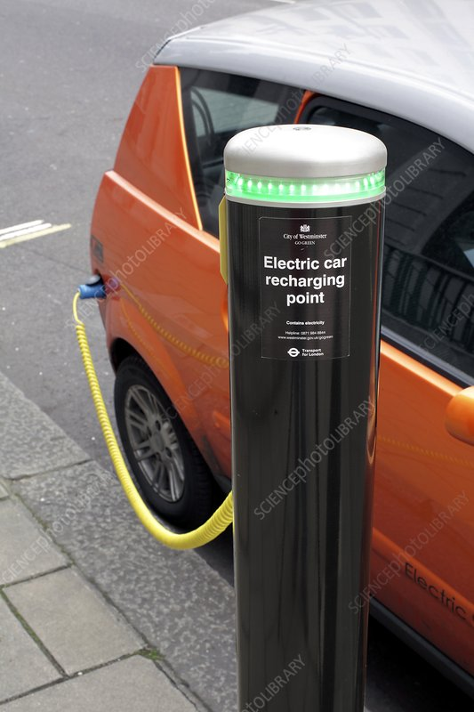 Recharging an electric car
