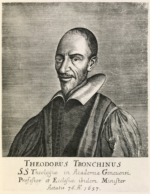 Theodore Tronchin, French theologian