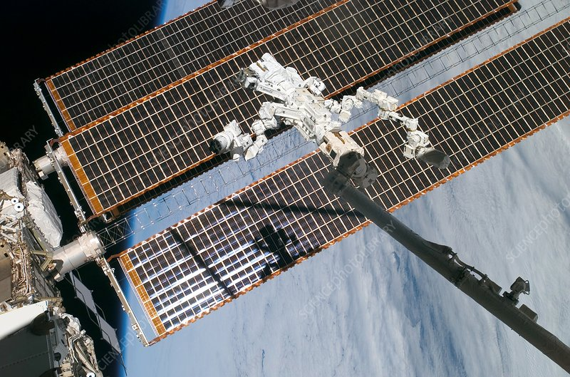Mobile Servicing System on the ISS
