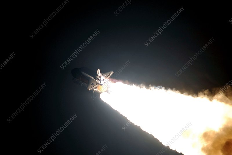 Space Shuttle Endeavour launching, 2008