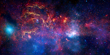 Milky Way galactic centre, composite