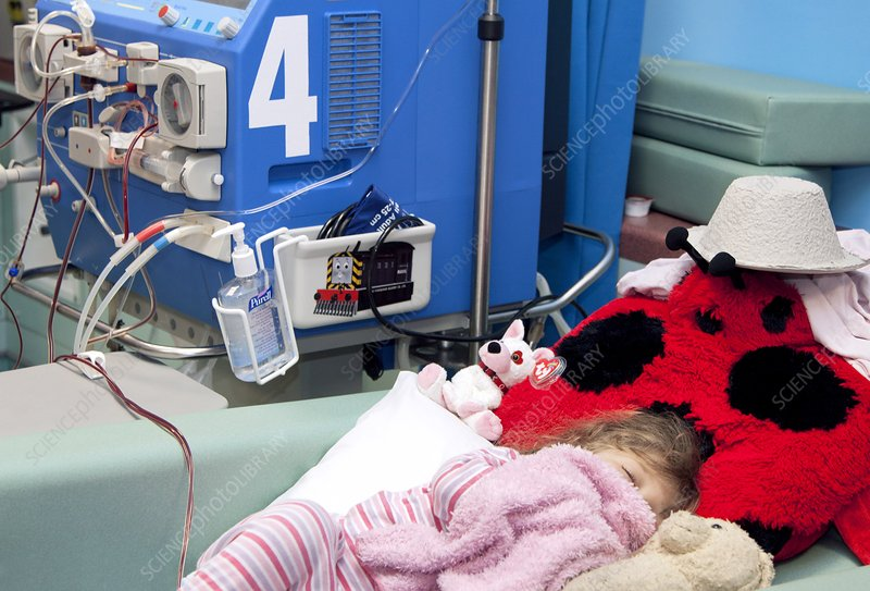 Paediatric dialysis