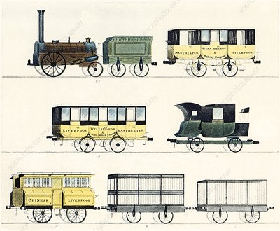 The Liverpool and Manchester Railway 1830