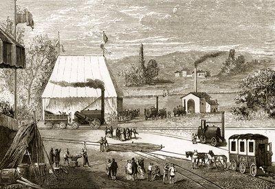 Rainhill Trials October 1829