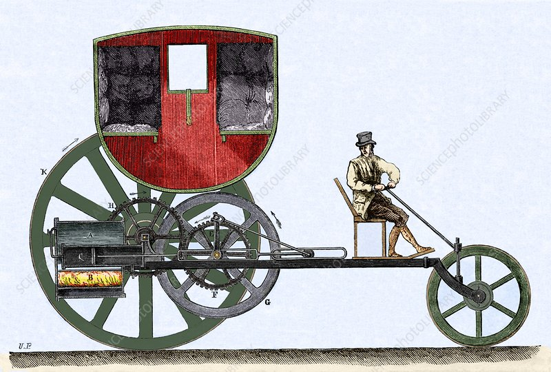 The London Steam Carriage 1803