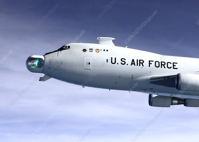 YAL-1 airborne laser aircraft