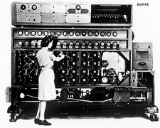 US Navy Bombe decryption machine