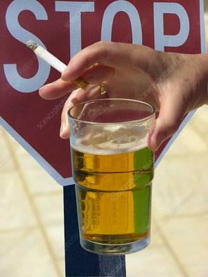 Stopping smoking and drinking
