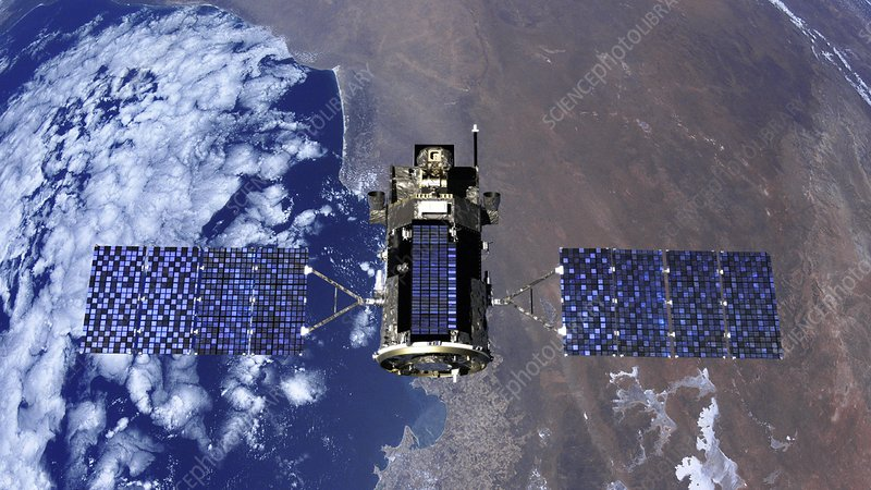 Glory satellite, artwork