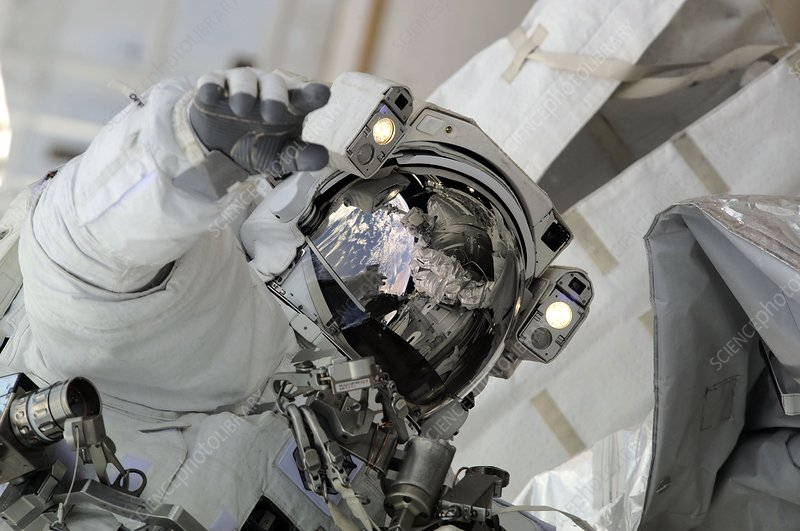 ISS space walk, 2010