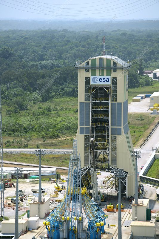 ELS launch pad, Guiana Space Centre