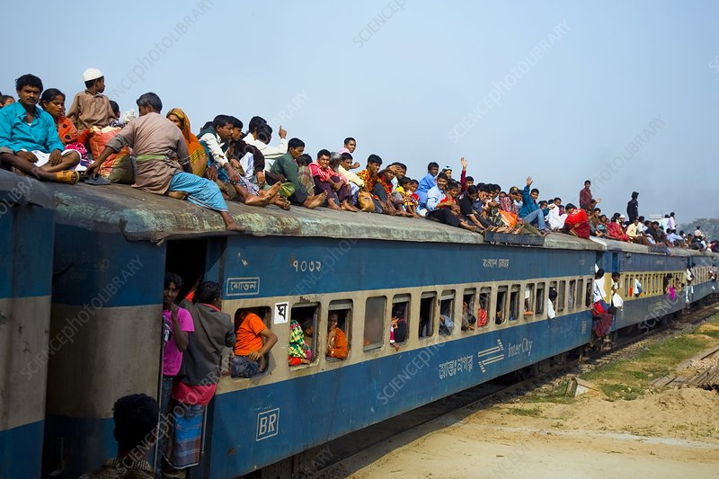 Rail travel in Bangladesh