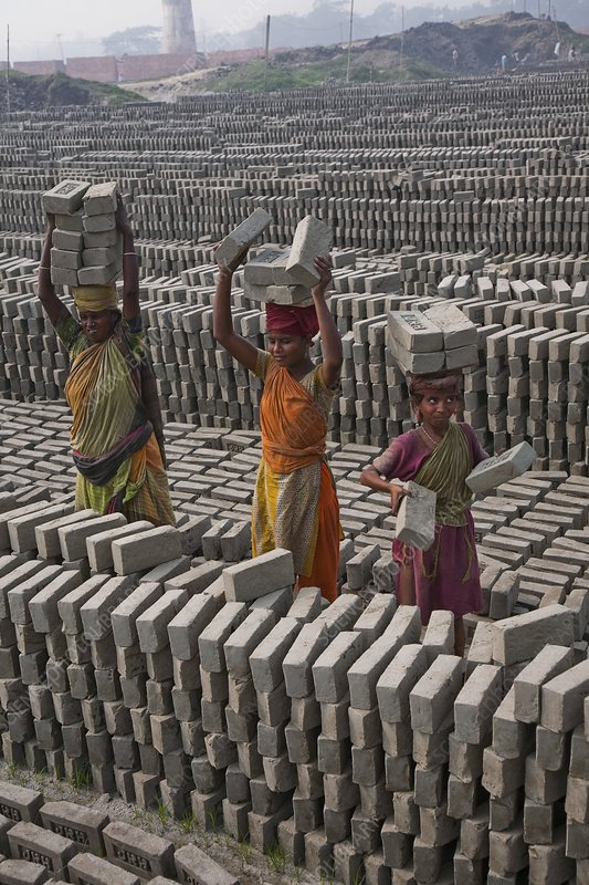Brick factory, Bangladesh