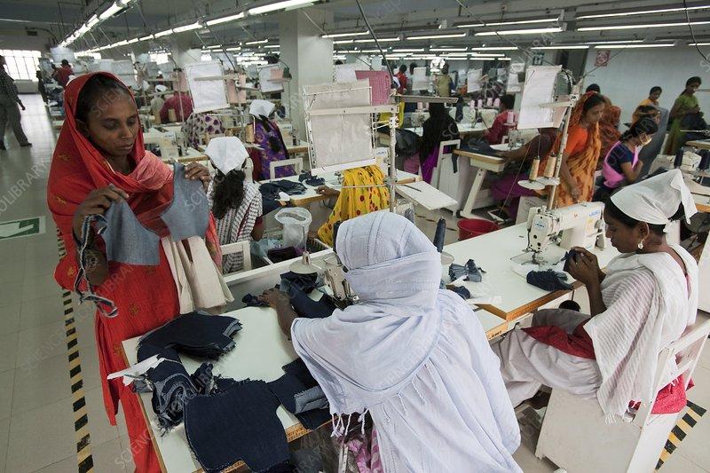 Textile workers, Bangladesh
