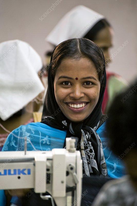 Textile worker, Bangladesh