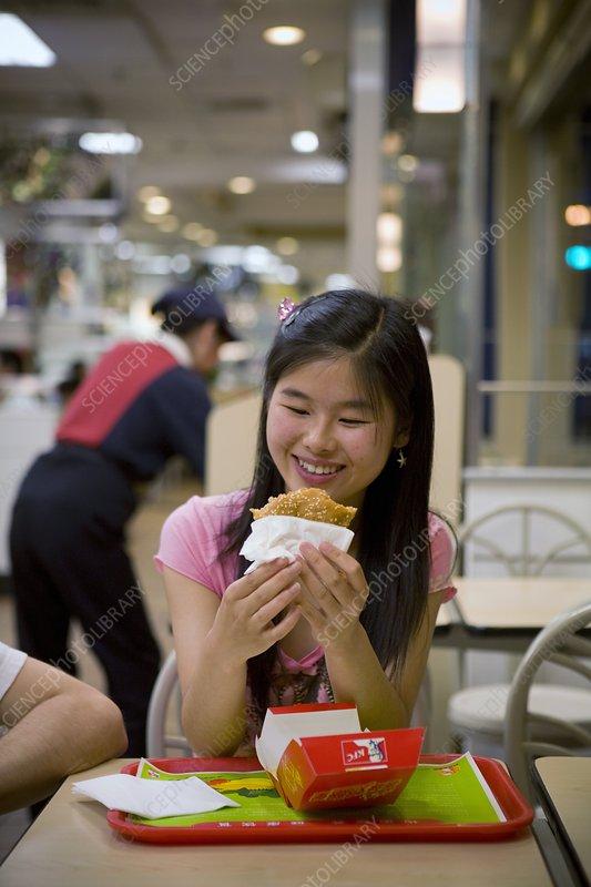 Fast food, China