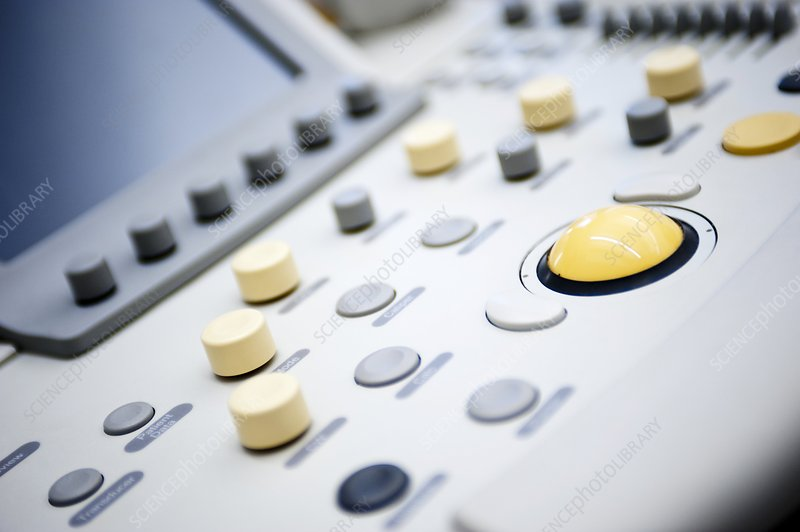 Control panel of ultrasound scanner